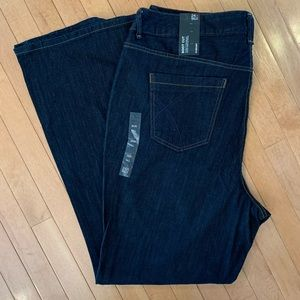 """NWT LANE BRYANT Size 24 Tall Jeans 25"""" Inseam"""